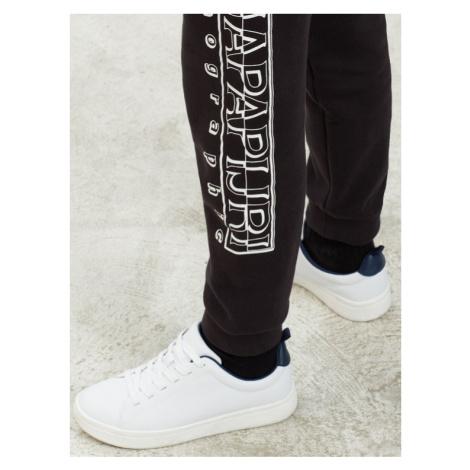 Napapijri Spodnie dresowe Moli Wint N0YIWE Czarny Regular Fit