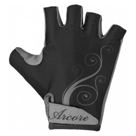 Arcore NINA czarny L - Rękawiczki rowerowe damskie