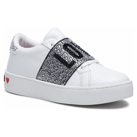 Sneakersy LOVE MOSCHINO - JA15103G1CIA0100 Bianco