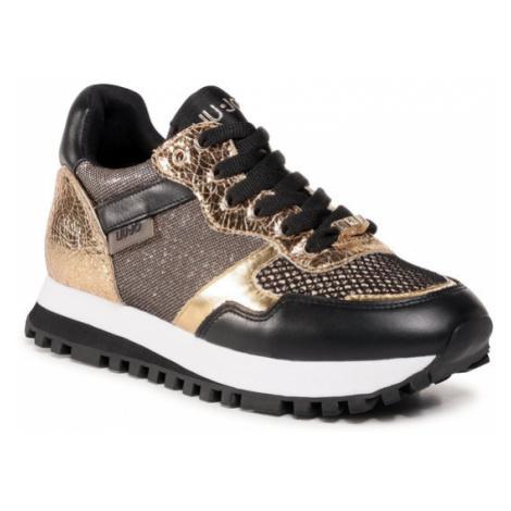 Liu Jo Sneakersy Wonder 2.0 BF0039 PX101 Złoty