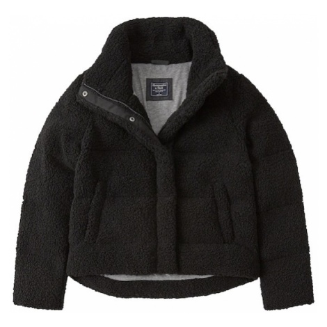 Abercrombie & Fitch Kurtka zimowa 'BTS18-ELEVATED FASHION PUFFER' czarny