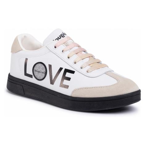 Sneakersy DESIGUAL - Cosmic Lettering 20SSKL02 1000