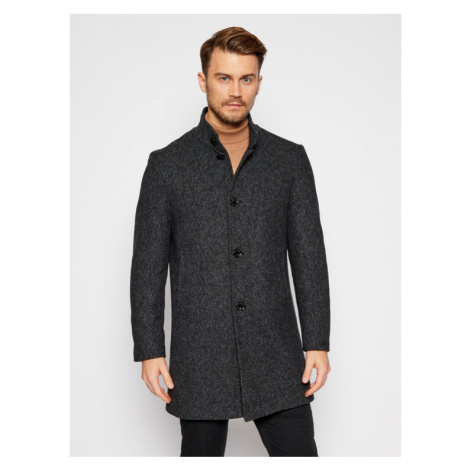 Pierre Cardin Płaszcz zimowy 71790/000/3932 Czarny Regular Fit