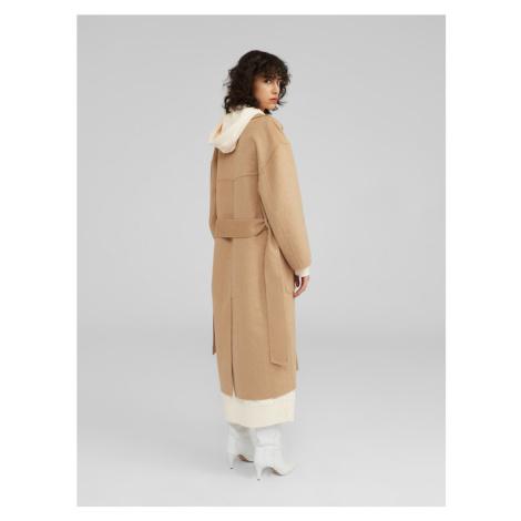 EDITED Płaszcz przejściowy beżowy