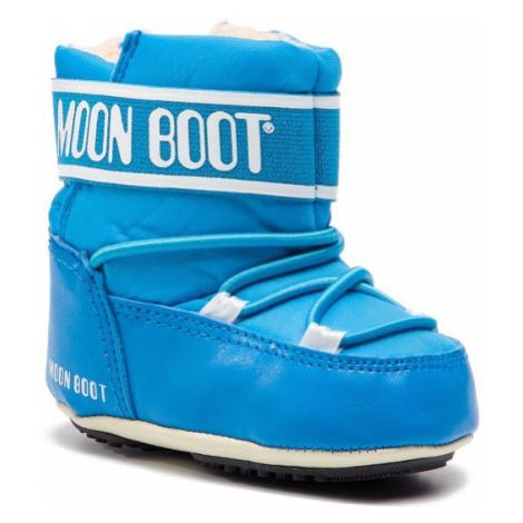 Moon Boot Śniegowce Crib 2 34010200001 Niebieski