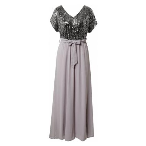 Mela London Suknia wieczorowa srebrny / szary