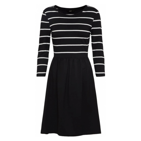 ONLY Sukienka czarny / biały