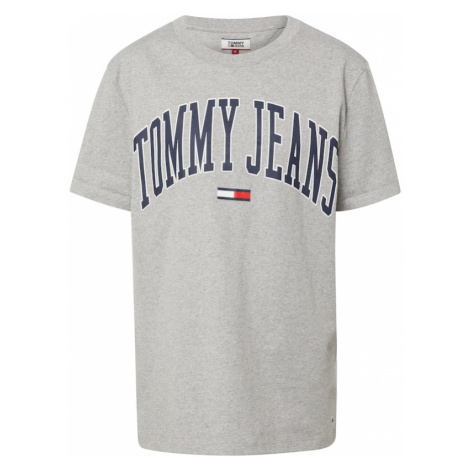 Tommy Jeans Koszulka 'COLLEGIATE' szary Tommy Hilfiger