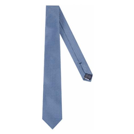 Tommy Hilfiger Tailored Krawat Blend Micro TT0TT06910 Niebieski