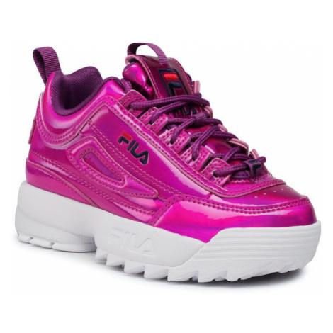 Fila Sneakersy Disruptor F Kids 1011081.73Y Różowy