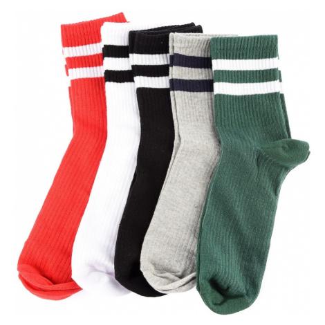 Trendyol Multi-Colored Mężczyźni 5 Pack Ribbon Socket Skarpety