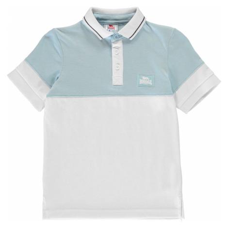 Koszulka polo chłopięca Lonsdale Junior