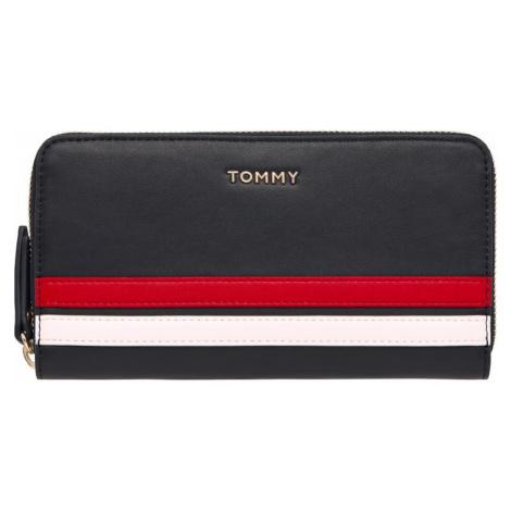 TOMMY HILFIGER Portmonetka biały / ciemny niebieski / czerwony