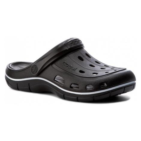 Klapki COQUI - Jumper 6351 Black/Antracit