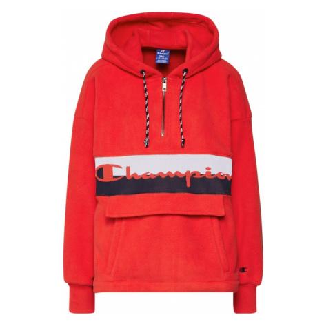 Champion Authentic Athletic Apparel Bluzka sportowa czerwony / czarny / biały