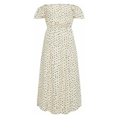 Amuse Society Letnia sukienka kremowy