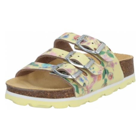 SUPERFIT Sandały mieszane kolory / żółty