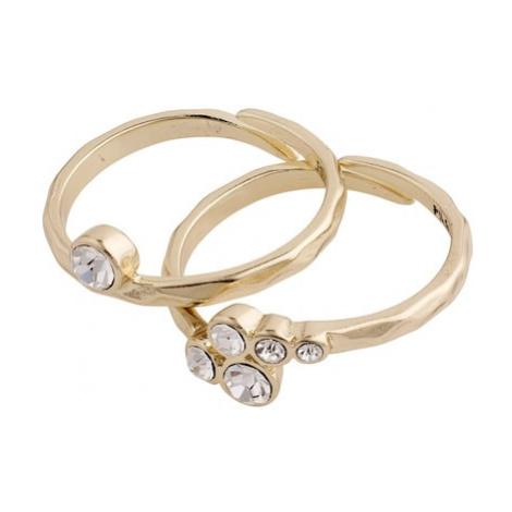 Pilgrim Zestaw biżuterii 'Fran' złoty