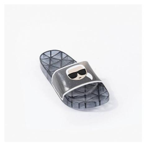 Klapki damskie Karl Lagerfeld Kondo Klear Ikonic Slide KL80705 V00