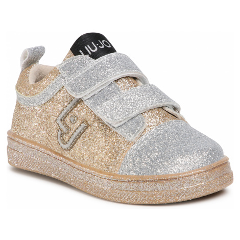 Sneakersy LIU JO - Mini Alicia 505 4F0301 TX007 Glitter 00529