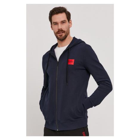 Hugo - Bluza bawełniana Hugo Boss
