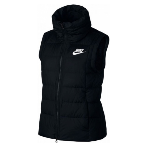 Nike DWN FILL VEST W czarny S - Bezrękawnik damski