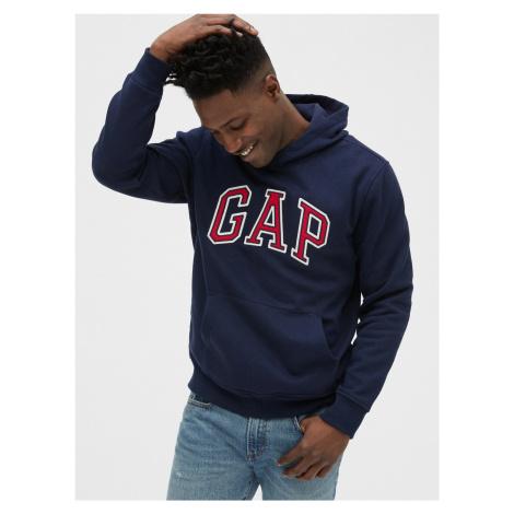 GAP niebieska bluza męska z kapturem