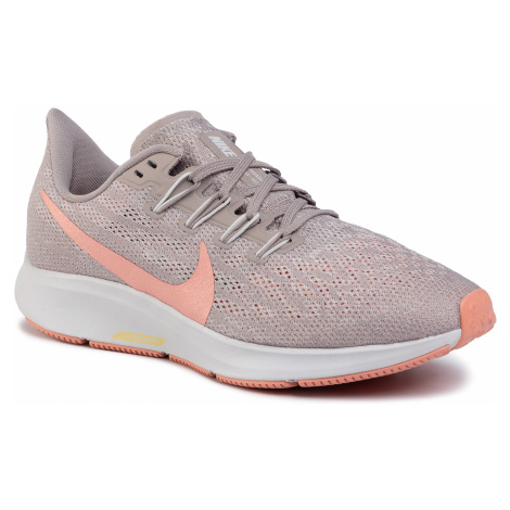 Buty NIKE - Air Zoom Pegasus 36 AQ2210 200 Pumice/Pink Quartz/Vast Grey