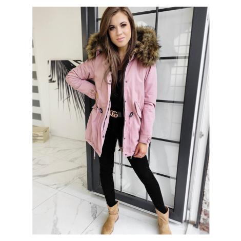 DESTONS women's parka jacket, pink TY1311 DStreet