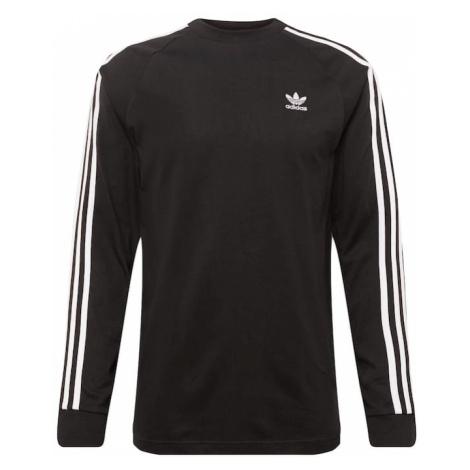 ADIDAS ORIGINALS Koszulka 'LS T' czarny / biały
