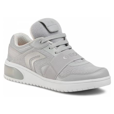 Sneakersy GEOX - J Xled G.A J928DA 06KNF C1010 S Lt Grey