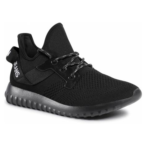 Sneakersy CALVIN KLEIN JEANS - Rejan B4S0708 Black/Silver