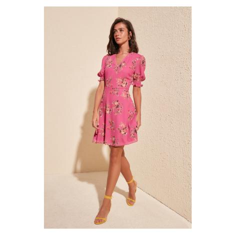 Women's dress Trendyol Floral Patterned