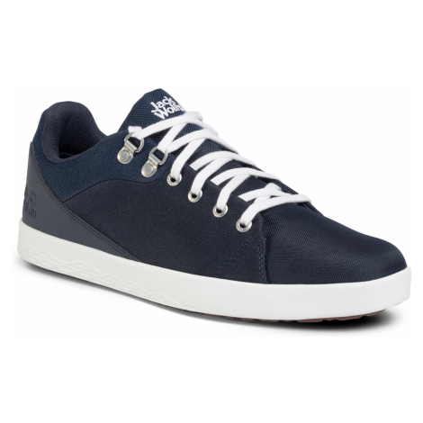 Sneakersy JACK WOLFSKIN - Auckland Ride Low M 4032482-1197100 Dark Blue/White