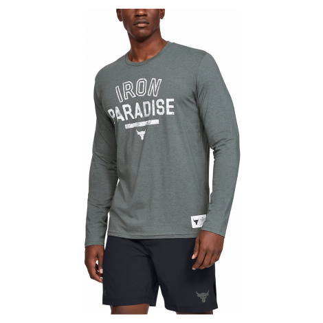 Under Armour Project Rock Iron Paradise Koszulka Szary