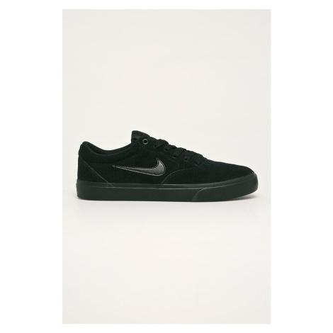 Nike - Buty skórzane SB CHARGE SUEDE
