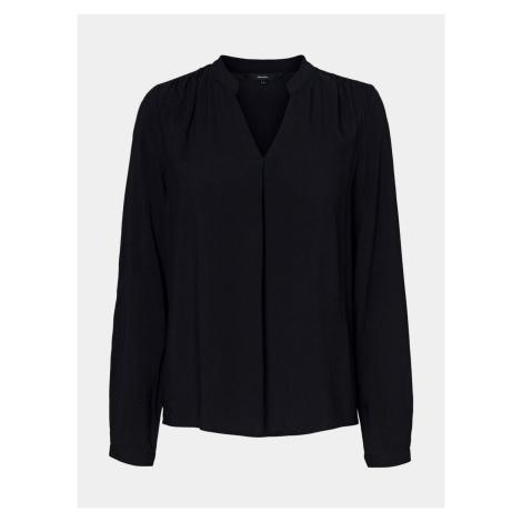 Czarna luźna bluzka VERO MODA