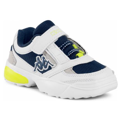 Sneakersy KAPPA - Krypton 260794K White/Navy 1067