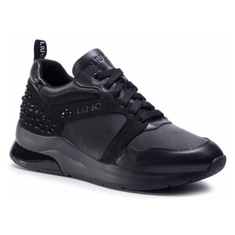 Liu Jo Sneakersy Karlie 23 BF0099 PX043 Czarny