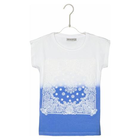 Geox Koszulka dziecięce Niebieski Biały