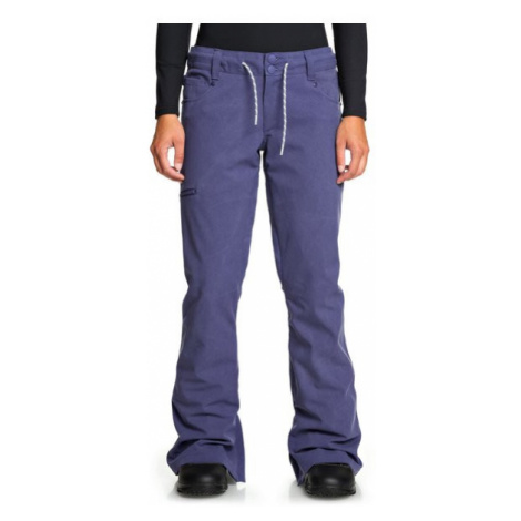 DC Spodnie snowboardowe EDJTP03022 Fioletowy Tailored Fit