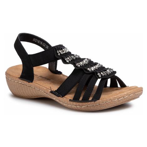 Sandały CLARA BARSON - WS1616-02 Black