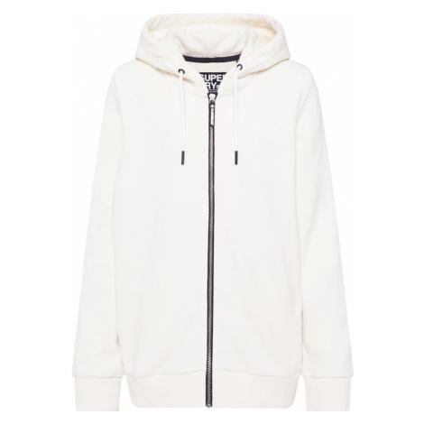Superdry Bluza rozpinana biały