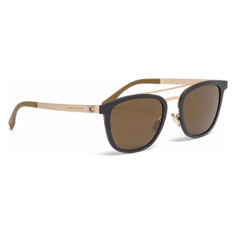 Okulary przeciwsłoneczne BOSS - 0838/S Mtbk/Mtgold 72Y Hugo Boss