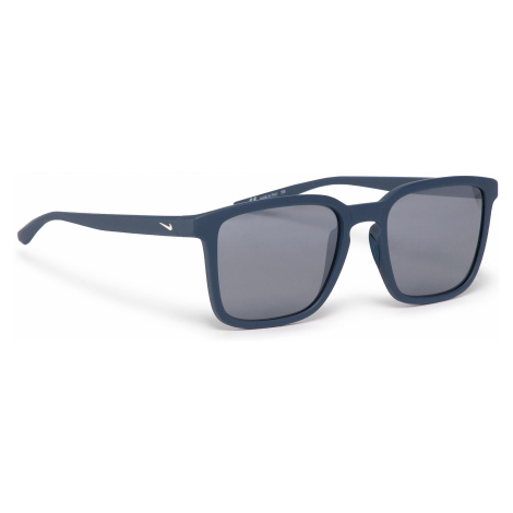 Okulary przeciwsłoneczne NIKE - Circuit EV1195 401 Matte Blue/Grey W/Silver Mirror
