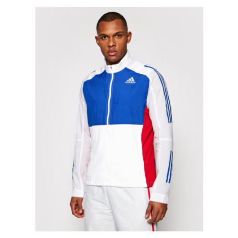 Adidas Kurtka przejściowa Otr Track GM6015 Biały Regular Fit