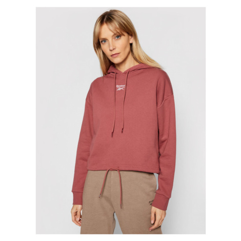 Reebok Bluza Classics Foundation French Terry GP2168 Brązowy Relaxed Fit