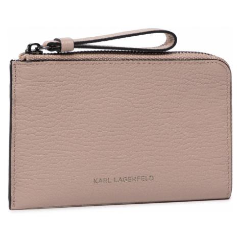Etui na karty kredytowe KARL LAGERFELD - 201W3258 Powder Pink
