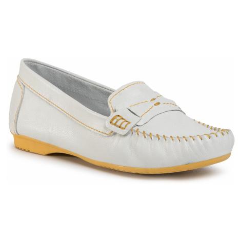 Mokasyny MARCO TOZZI - 2-24225-34 White/Yellow 185