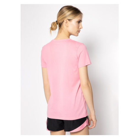 Under Armour T-Shirt Graphic Sportstyle Classic Crew 1346844 Różowy Loose Fit